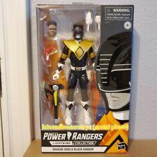 Power Rangers Lightning Collection Dragon Shield Black Ranger Figure Exclusive