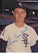 Chicago White Sox Ray Herbert Auto Signed 3x5 Original George Brace Photo