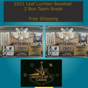 Los Angeles Dodgers  - 2021 Leaf Lumber Baseball Hobby - 2 Box Team Break #1