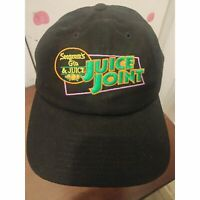 Seagrams Juice Joint Gin & Juice Strapback Adjustable Black Cap Hat
