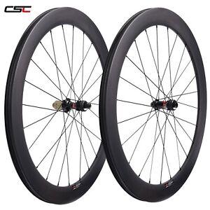 50mm Tubuless Ready SAT D411SB Hub Disc Brake Cyclocross Wheelset Carbon Wheels