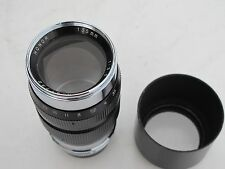 """RARE Leica LTM Honor 135mm f:3.5 lens with cap/hood, ONLY ONE on eBay """"LQQK"""""""