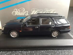 Minichamps 1:43 430 084011 Ford Scorpio Estate In Blue/Grey - Never Displayed