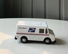 EUC US Postal Van Die Cast Toy With Opening Door In Back Of Vehicle