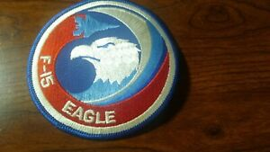 AIRFORCE F-15 EAGLE PATCH-------------------------------------------
