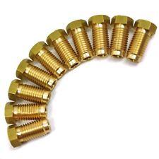 "Brass frein raccords de tuyaux 3/8 ""x 20 unf mâle 10 pack pour 3/16"" tuyau fl15"