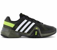 adidas Adipower Barricade 8 Herren Tennis Schuhe F32330 Sportschuhe Schwarz NEU