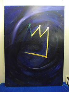 """Heinz Josef Mess """"Die Krone des Universums"""", groß, Öl, signiert, datiert, 1991"""