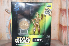 C-3PO Millennium Minted Coin Star Wars Power Of The Force 2 1998 Box