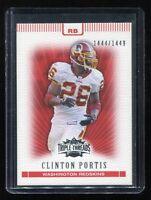 2007 Topps Triple Threads #38 Clinton Portis (Washington Redskins) #d 1444/1449