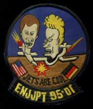 USAF Euro NATO Joint Pilot Training Program Beavis Butthead 95-01 Patch S-18