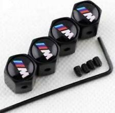Tapones de válvula BMW M, Anti robo, logo M, tapon valvula rueda, Valve Caps