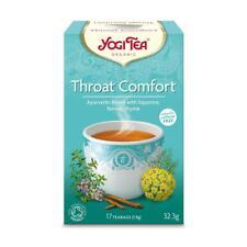 💚 Yogi Tea Organic Throat Comfort Herbal Tea 17bag