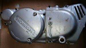 Honda CB 250 G 360 alle 3 Motor Seitendeckel links incl Kupplungsmimik nice gut