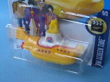 Hotwheels BEATLES sous-marin jaune Les-CAST METAL TOY 75 mm en USA BP