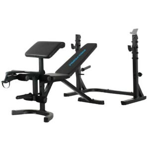 ProForm Sport Olympic Rack Bench XT Pro Form Weight Lifting Home Gym Adjustable