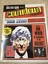 Doctor Who Countdown Comic Repro Jon Pertwee Comic