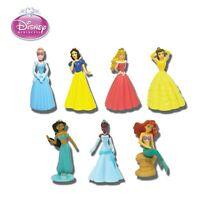 Set 7 Figuras Princesas Disney Princess Edificable Figures Originales TOMY Japan
