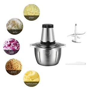 Electric Meat Grinder Home Kitchen Industrial Stainless Steel Sausage Maker US
