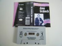 DAVE BRUBECK THE ESSENTIAL LONG PLAY CASSETTE TAPE BEST OF CBS HOLLAND 1990