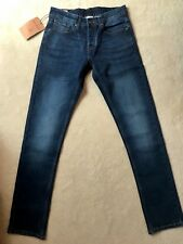 True Religion Jeans Blue Stretch Slim Fit Rocco Division New With Tags W34 L32