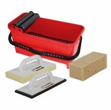 Rubi Kit RubiCleaner Eco Vaschetta lavaggio pavimenti con accessori lavoro 68910