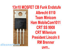 1x 13n10 MOSFET Endstufe CB Funk AE6110 CRT 9900 Millenium President Lincoln II