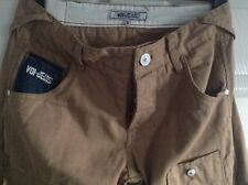 Gorgeous Womens Voi Jeans Tan Coloured and Blue Chino 10