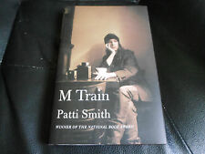 PATTI SMITH SIGNED - M TRAIN - First Printing Hardcover NEW