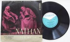 """EDUARD VON WINTERSTEIN GOTTHOLD LESSING Nathan Der Weise 10"""" Vinyl 1962 ETERNA"""