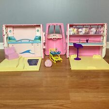 BARBIE TROPICAL SOUNDS CRUISE SHIP Vintage 1990 VGUC Accessories Beds Pink Boat