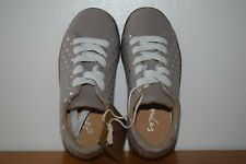 Joules Girls Solena Cupsole Leather Trainers Size UK9 EU27
