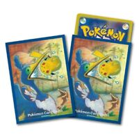 Pokemon center JAPAN - Cramorant & Pikachu card Deck Shields (64 Sleeves)