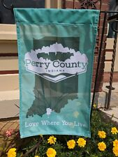 Perry County Indiana Garden Flag #pickperry Tell City