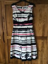 Fenn Wright Manson cotton dress size 8 vgc