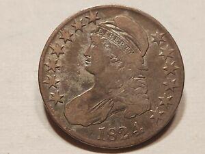 1824/1 U.S. Bust Half Dollar