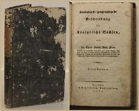 Stein Statistisch-geographische Beschreibung des Königreichs Sachsen 1827 sf