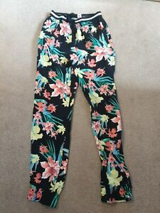 Tu Floral Trousers Age 8 Years