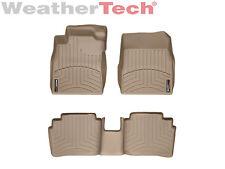 WeatherTech Floor Mats FloorLiner for Nissan Versa - 2007-2012 - Tan