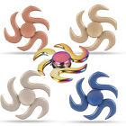 CHEAP~~Rainbow EDC Hand Fidget Spinner High Speed Tri Fidget ADHD Focus Desk Toy