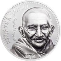 w// Box/&COA 1 .999 Silver 2018 Palau $5 Gecko Shaped Coin Oz One Ounce