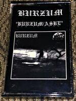 1BURZUM1 - 1BURZUM1/ ASKE *Very Rare* VG+ Cassette Tape Morbid Noizz Official