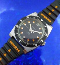 Exquisite 1973 Vintage Diver Men's CARAVELLE Watch Hand Wind SERVICED W/WARRANTY