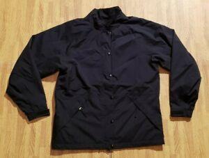 FootJoy DryJoy's Black Golf Jacket ~ Women's Small S ~ Double Closure FJ