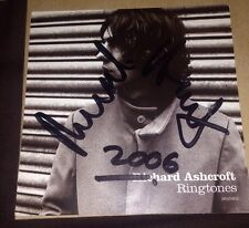 RICHARD ASHCROFT KEYS TO THE WORLD CD ALBUM & SIGNED RINGTONES ART CARD