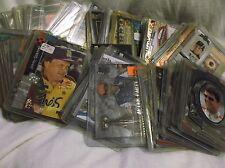 NASCAR TRADING CARDS. PRESSPASS,UPPERDECK, 1995-2010.  SET OF 165 CARDS