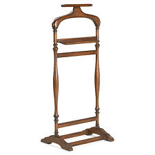 WESTBOURNE PARK VALET STAND - CLOTHES STAND - CHERRY FINISH - FREE SHIPPING*