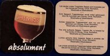CHIMAY  - TRAPPIST  BEERCOASTER FROM BELGIUM SE17062