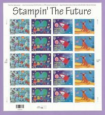3414 - 3417  US ...Stampin' The Future.. .Never Hinged Sheet issued year 2000