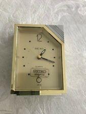 Handsome SEIKO model QEJ151G alarm clock in original packaging